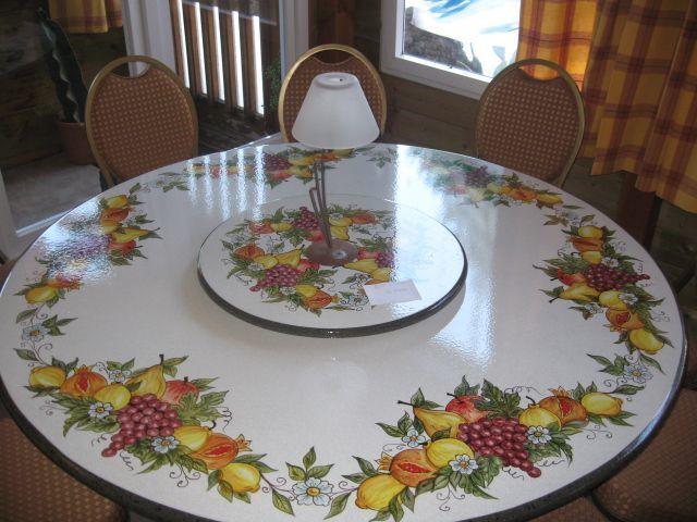 Table artisanale